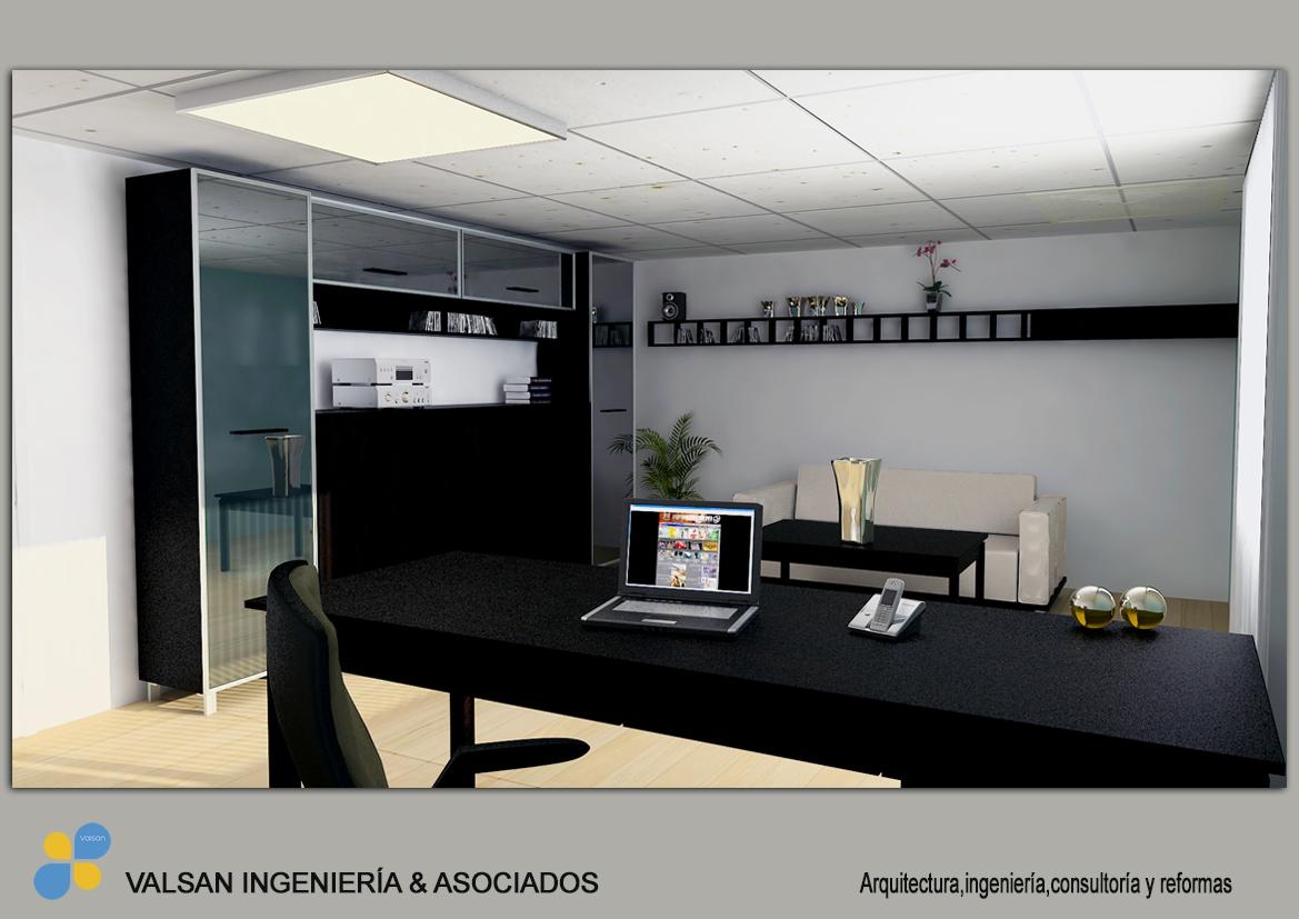Diseño 3D para nuevas oficinas en Elche | VALSAN INGENIERÍA & ASOCIADOS